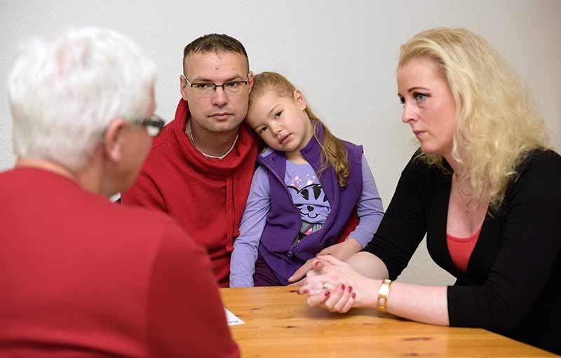 katholische Hilfe für unruhige Ehen